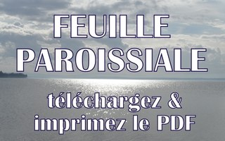 feuille-paroissiale
